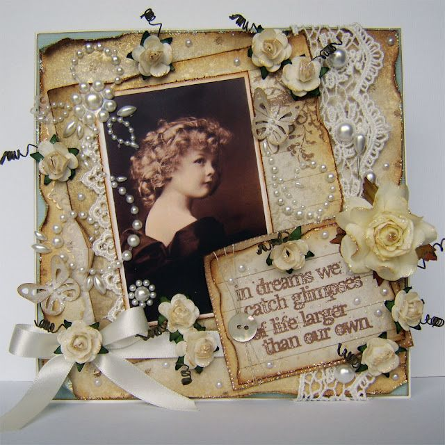 17 Best Images About Cards Vintage Style On Pinterest