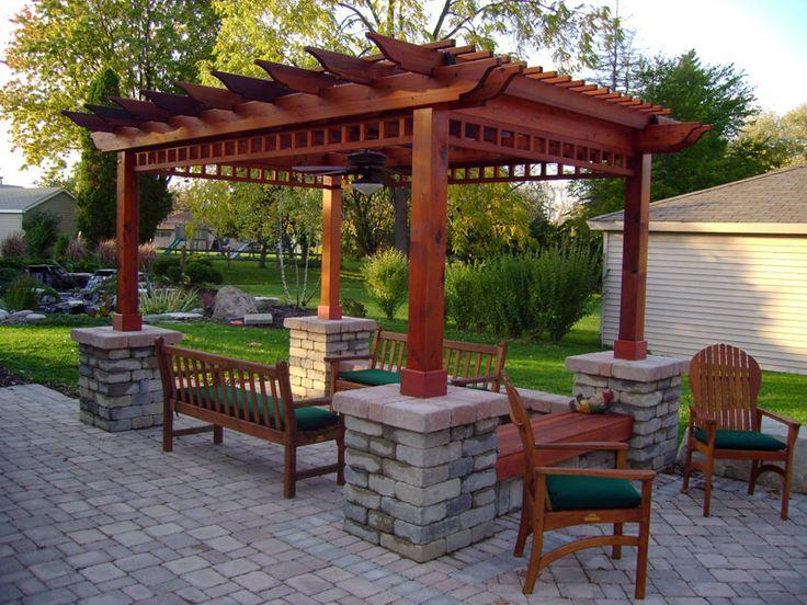 Backyard Patio Ideas Pergola