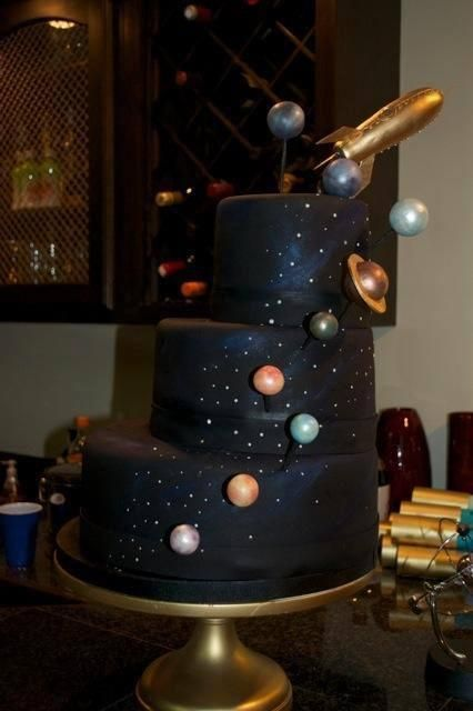 22 Best Images About Astronomy Cake On Pinterest Solar