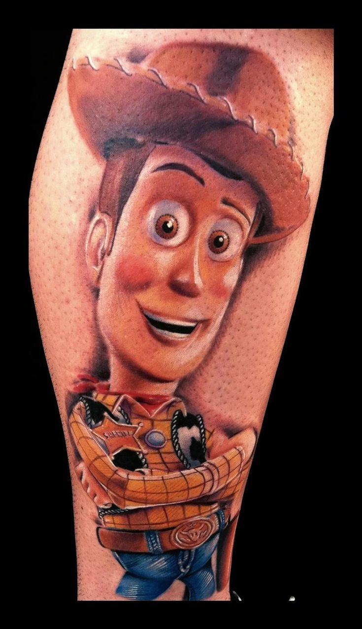 Brent Olson Tattoo Artist Amazing Woody tattoo ! I want