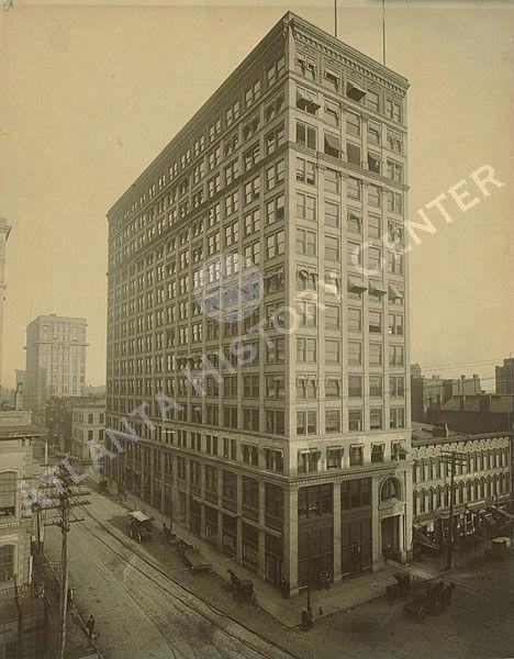 1890 View of the Empire Building (later the Atlanta Trust