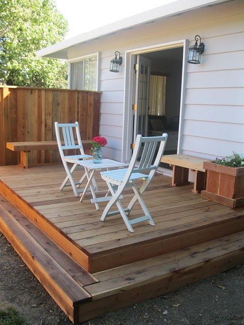 25 Best Ideas About Small Backyard Decks On Pinterest