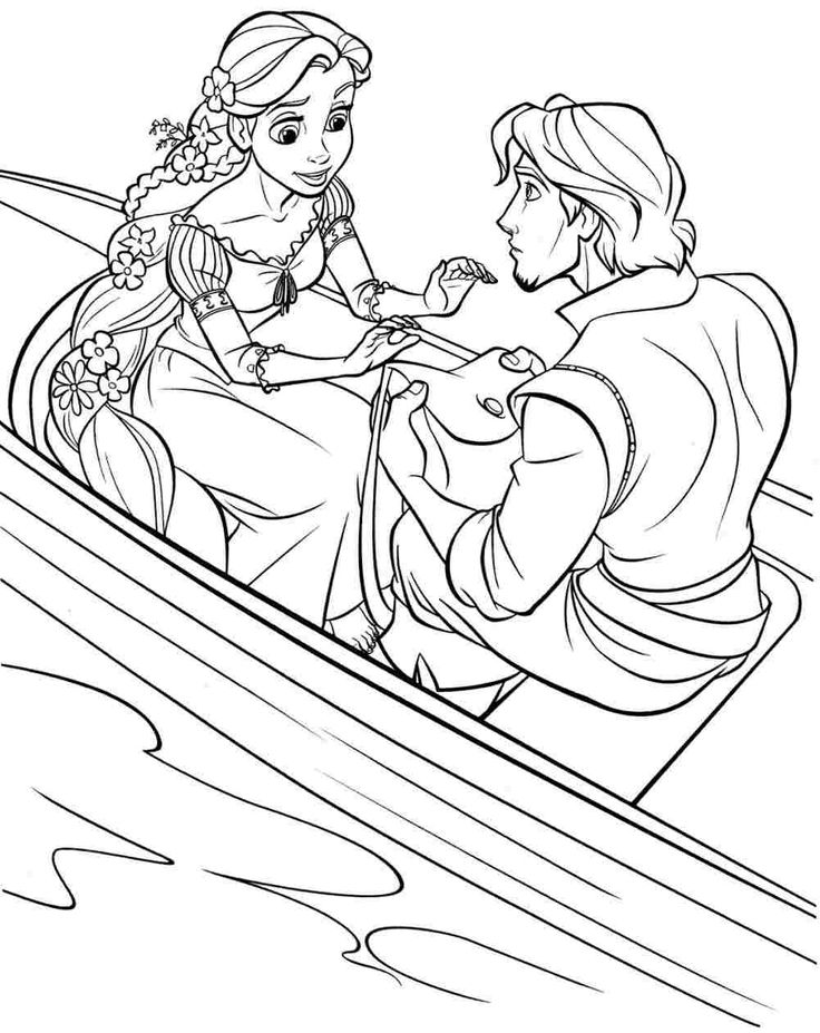 disney tangled coloring pages printable Printable Free