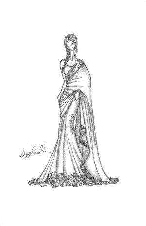 Indian SariSaree | fashion | Pinterest | Posts, Pencil