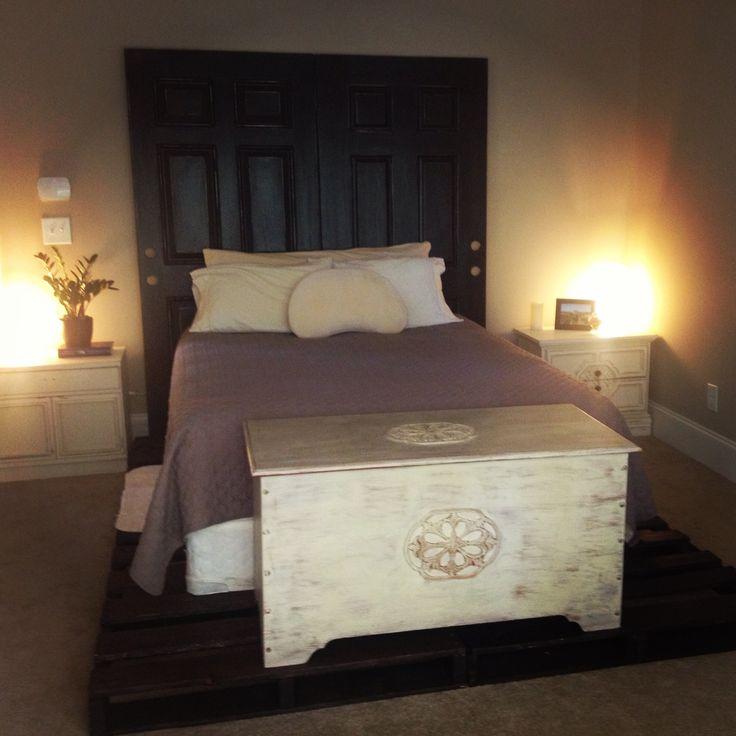 1000 Images About Pallet Beds On Pinterest Farmhouse