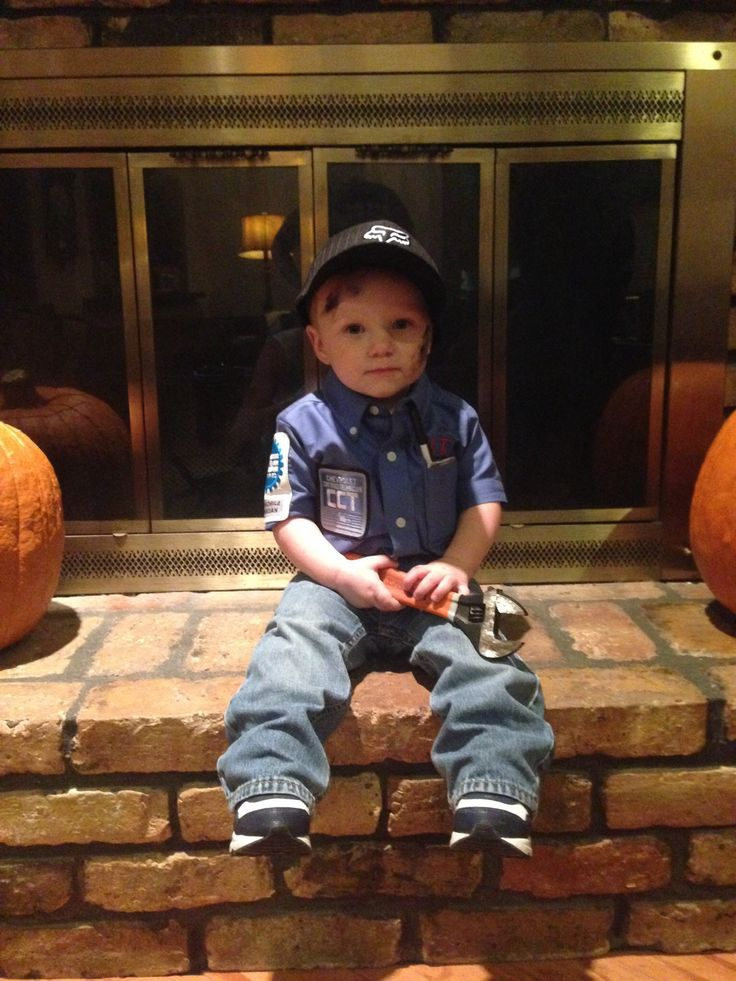 Little boy mechanic Halloween costume! Babies