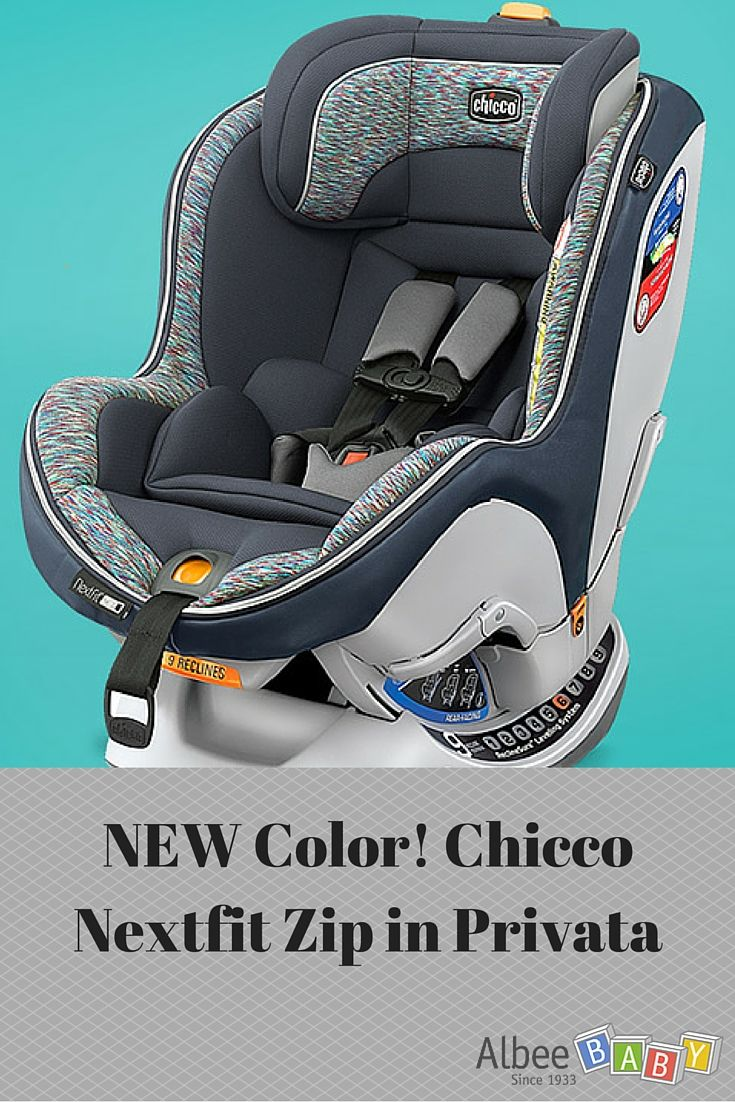 Chicco 2016 NextFit Zip Convertible Car Seat Privata