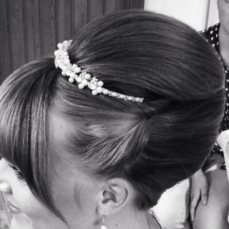 Vertical Roll Hair By Natasha Mason Pinterest