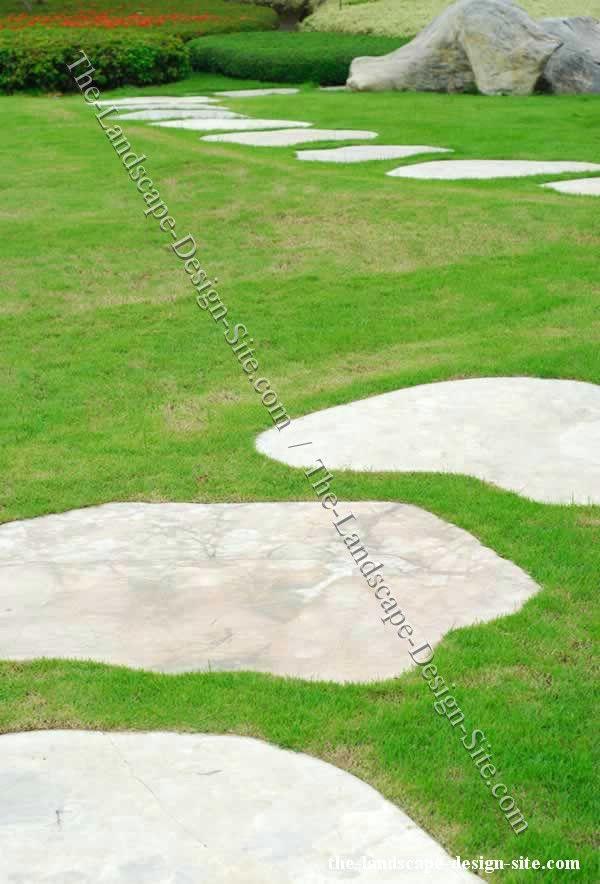 Concrete Paths Large Poured Concrete Slab Garden And