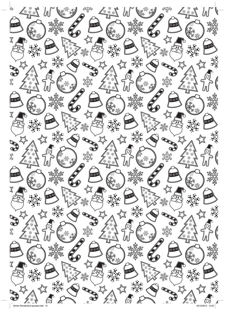 Cute candy cane free colouring sheet! christmas and