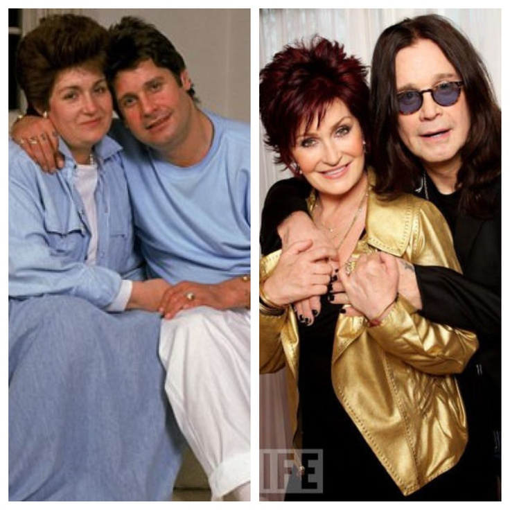 Sharon and Ozzy Osbourne Before & After PLASTIC SURGERY