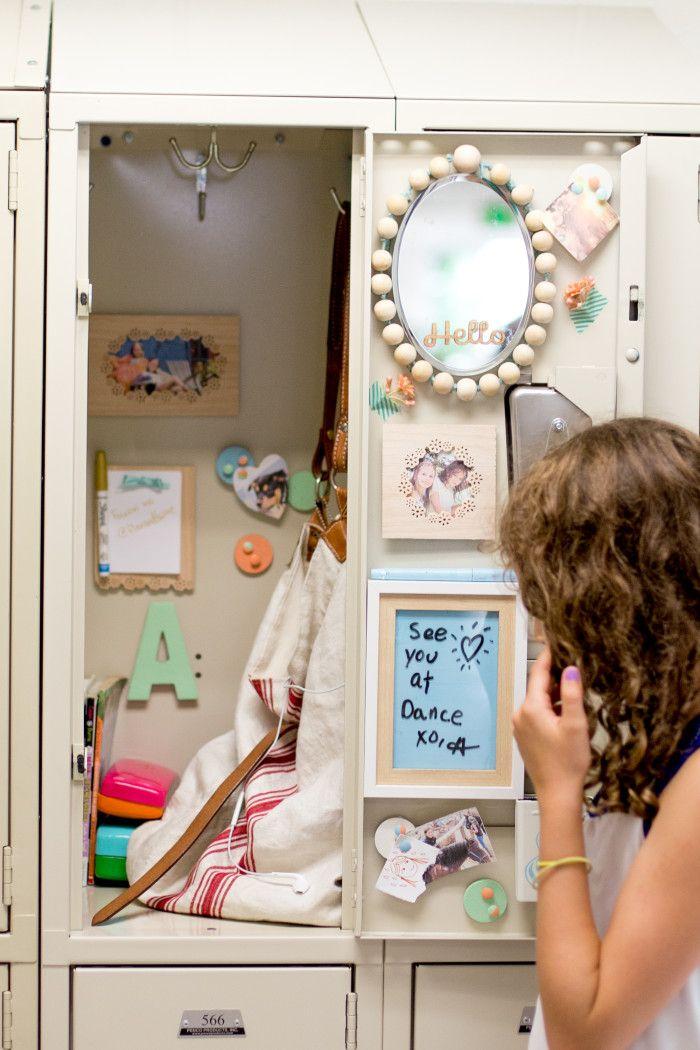 DIY Locker Decorations: Teen Library Craft