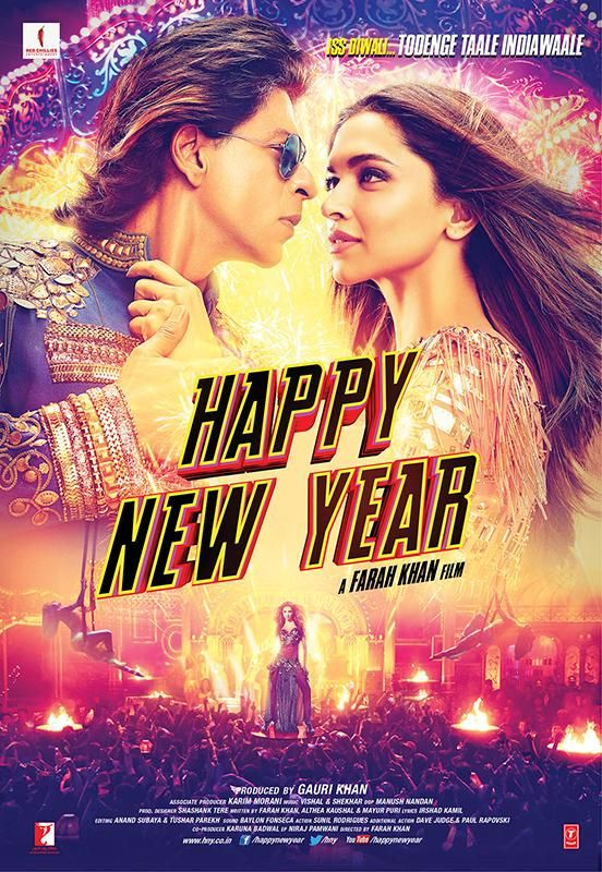 Happy New Year (2014). Gotta give it to this movie for