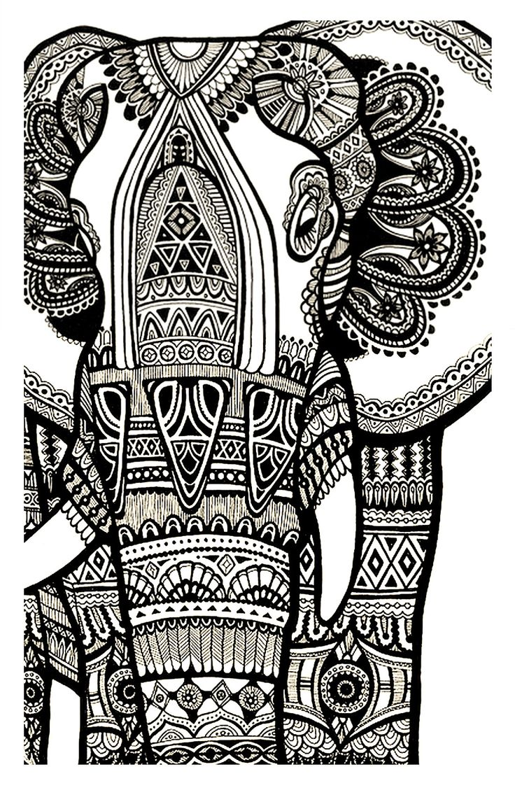 to print this free coloring page coloring elephant te print for free