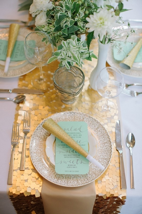Beach Wedding Idea: Gold + Turquoise Color Palette for Destination Wedding | Book Your Dream Beach Wedding with the Resorts of Pelican Beach in Destin,