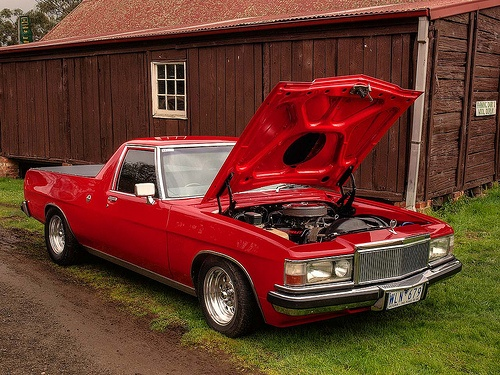 Holden WB Ute, hopefully mine will look like this one day