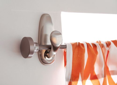 Command Hooks To Hang Curtain Rods DIY Pinterest Curtain Rods Rod Holders And Classic