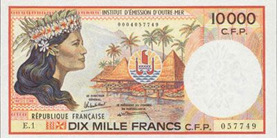 French polynesia, Banknote and French on Pinterest