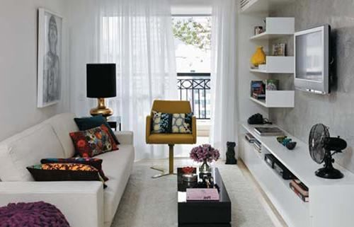 17 Best Images About Small Narrow Living Room On Pinterest