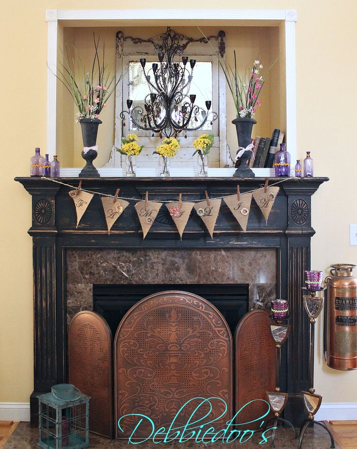 Transformations Of Furniture And Home Decor Mantels