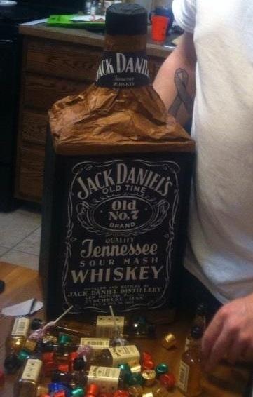 Jack Daniels Pi 241 Ata For My Husband Filled With Mini Jack