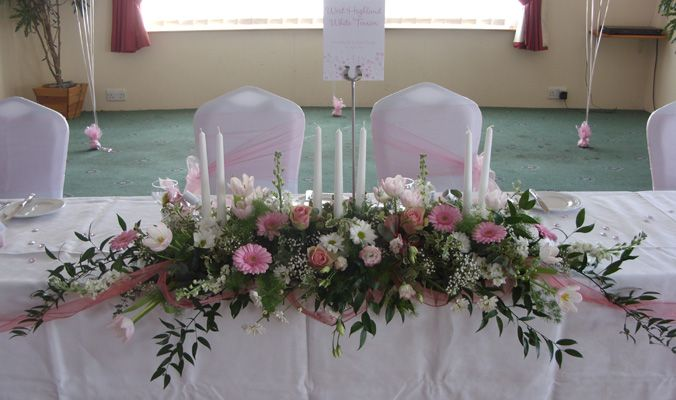 Silk Flower Arrangements For Weddings