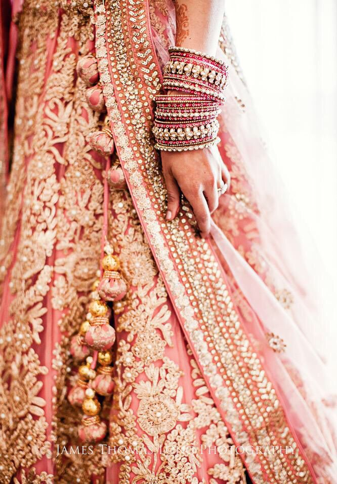 Lehenga, Indian bride