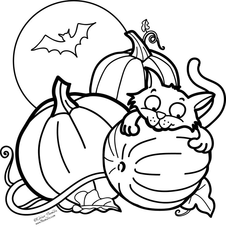 1000 ideas about halloween coloring pictures on pinterest