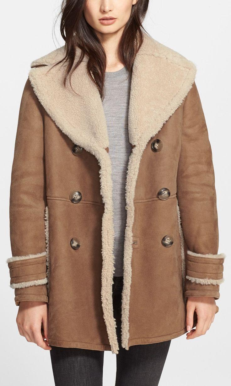 Shearling coat, Coats and Sweet on Pinterest