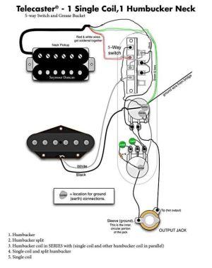 Telecaster SH wiring 5way  Google Search | Wirings | Pinterest | Guitars