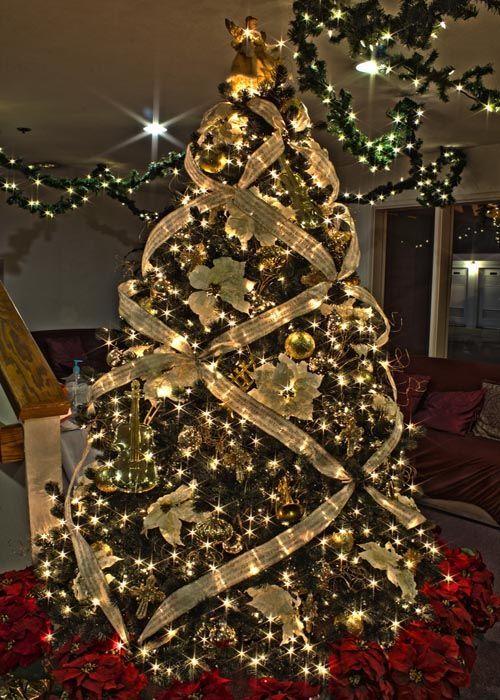 chsristmas tree decorations   Beautiful Christmas Tree Decorating Ideas 2013