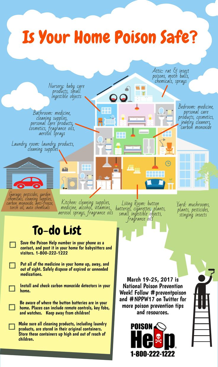 September is BabySafetyMonth. Is your home poison safe