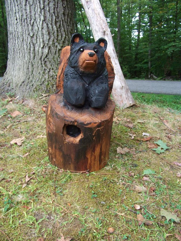 Chainsaw Carvings Ebay Bear