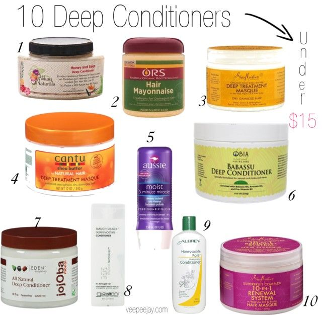 10 Deep Conditioners for Natural Hair Under $15 – VeePeeJay