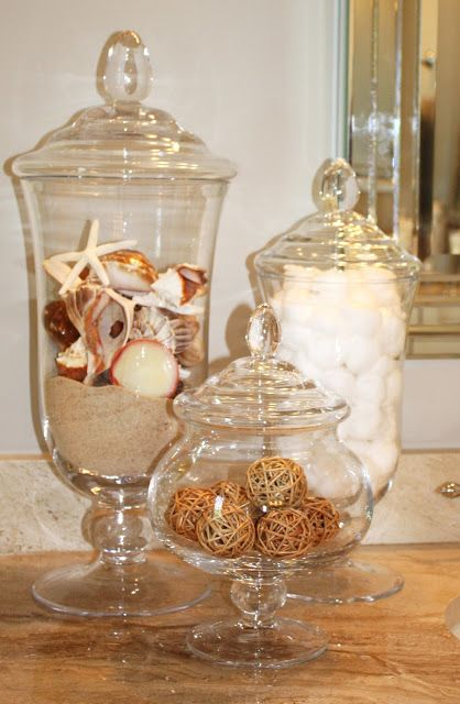 1000 Images About Glass Canister Inspiration On Pinterest