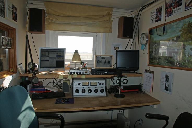 Homemade Radio Station in bedroom. Radio Pinterest