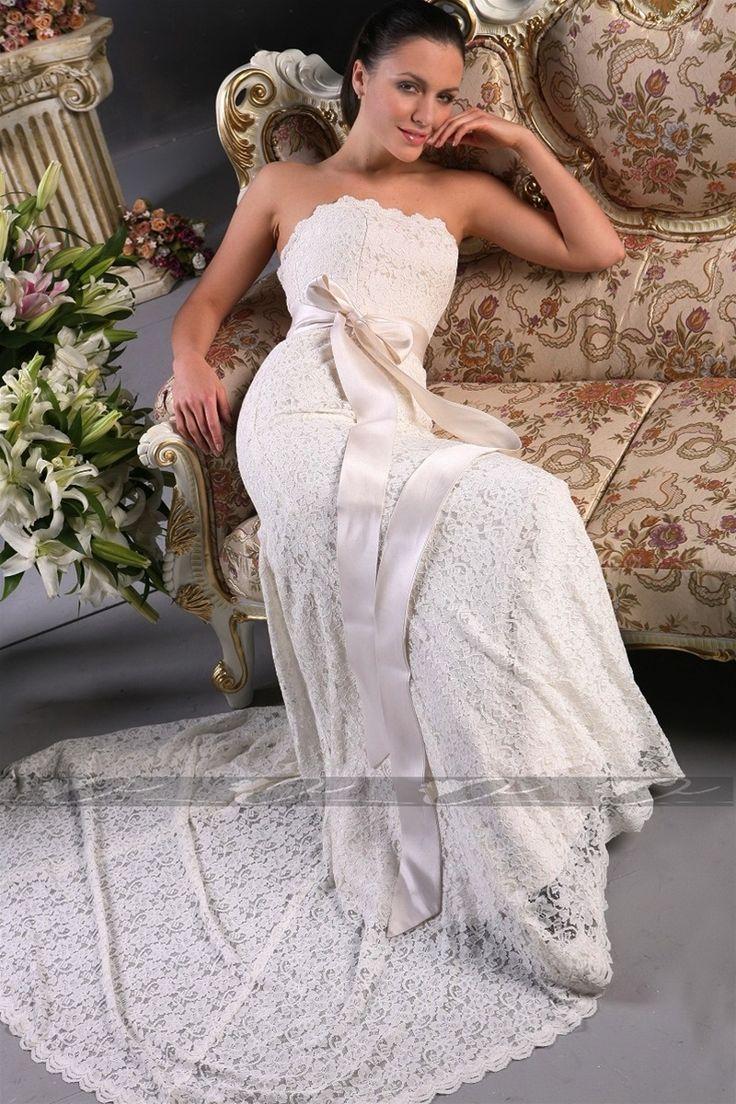 Beauty lace wedding dress