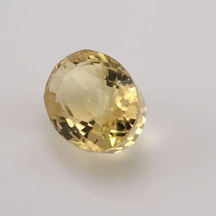 48 Carat Yellow Scapolite Gemstone Gemstones The O