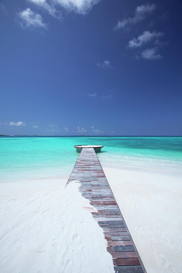 Jetty Leading To Ocean Maldives The Impossible Wanderlust And Travel Destinations