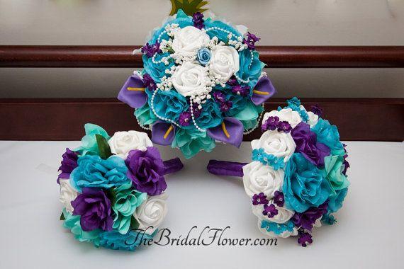 25+ Best Ideas About Purple Turquoise Weddings On