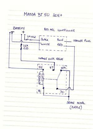 BT 50 Brake Controller Wiring Diagram | Ute 4x4 Project