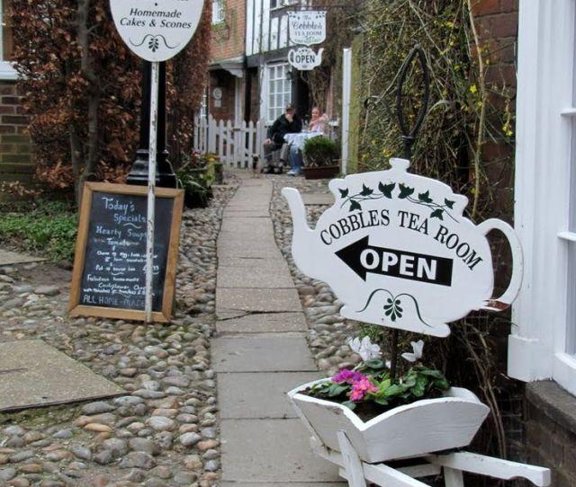 The Cobbles Tea Room Rye East Sus England