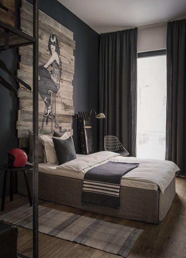 15 Wonderful Mens Bedroom Design Ideas