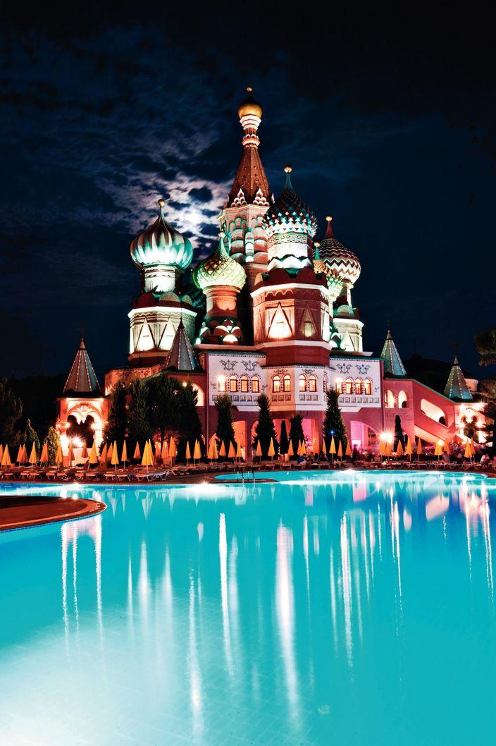 WOW Kremlin Palace, Lara Beach, Antalya, Turkey Fly me