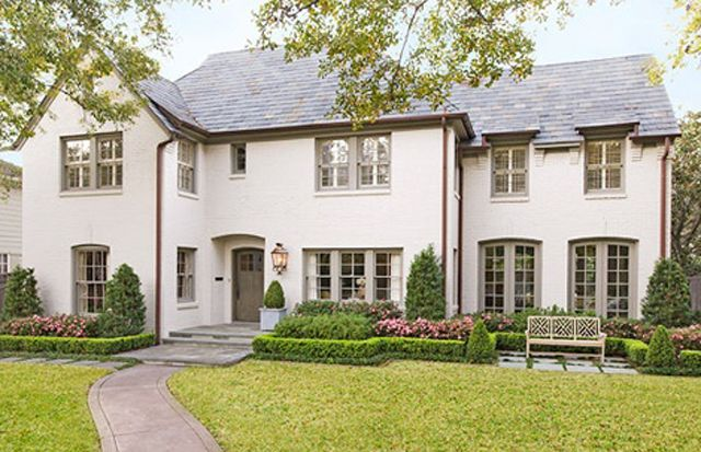 Trim Colors For White Brick Houses