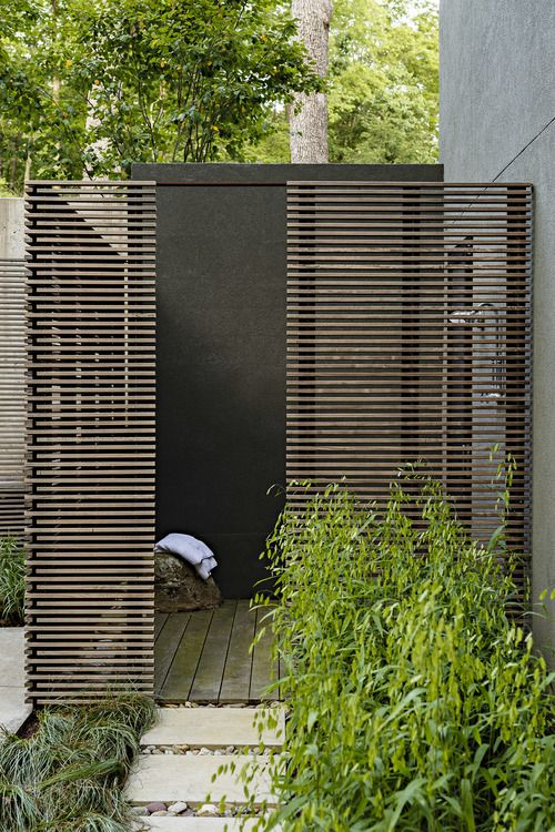 60 Best Images About Outdoor Showers On Pinterest Black