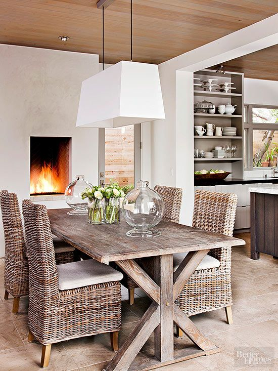 Add Farmhouse Style To Your Home Modern Trestle Table
