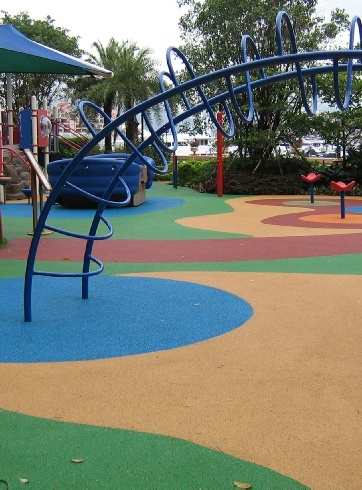 Rubber floor for kids play areas Grand Designs useful