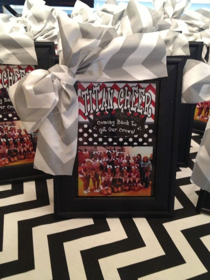 25 best ideas about cheer banquet on gifts