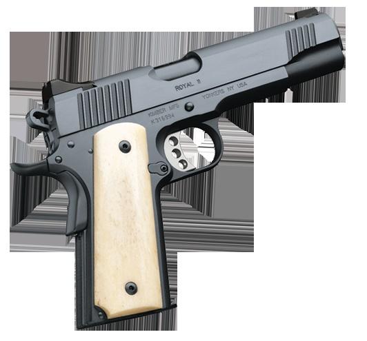 Kimber 1911 Royal Ii A Classic Full Size Pistol Wearing